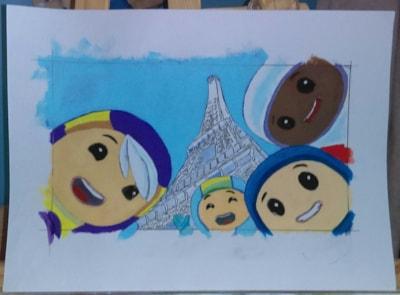 Childrens cartoon characters