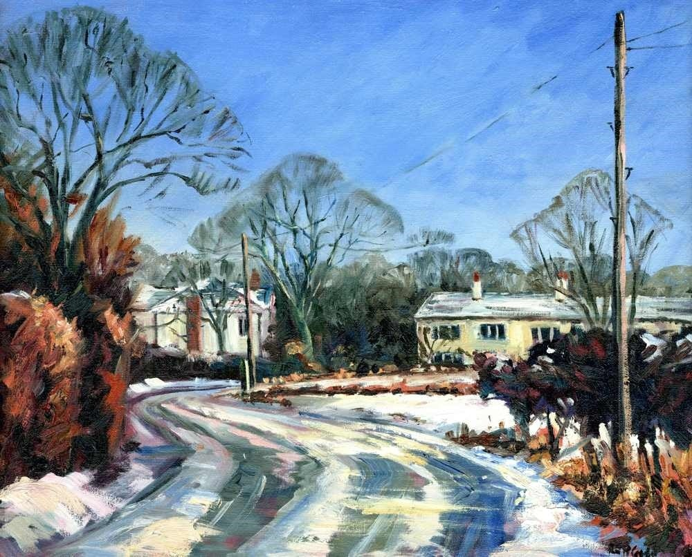Cross Lane, Croft under Snow