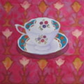 Teacup on Tulip Pattern