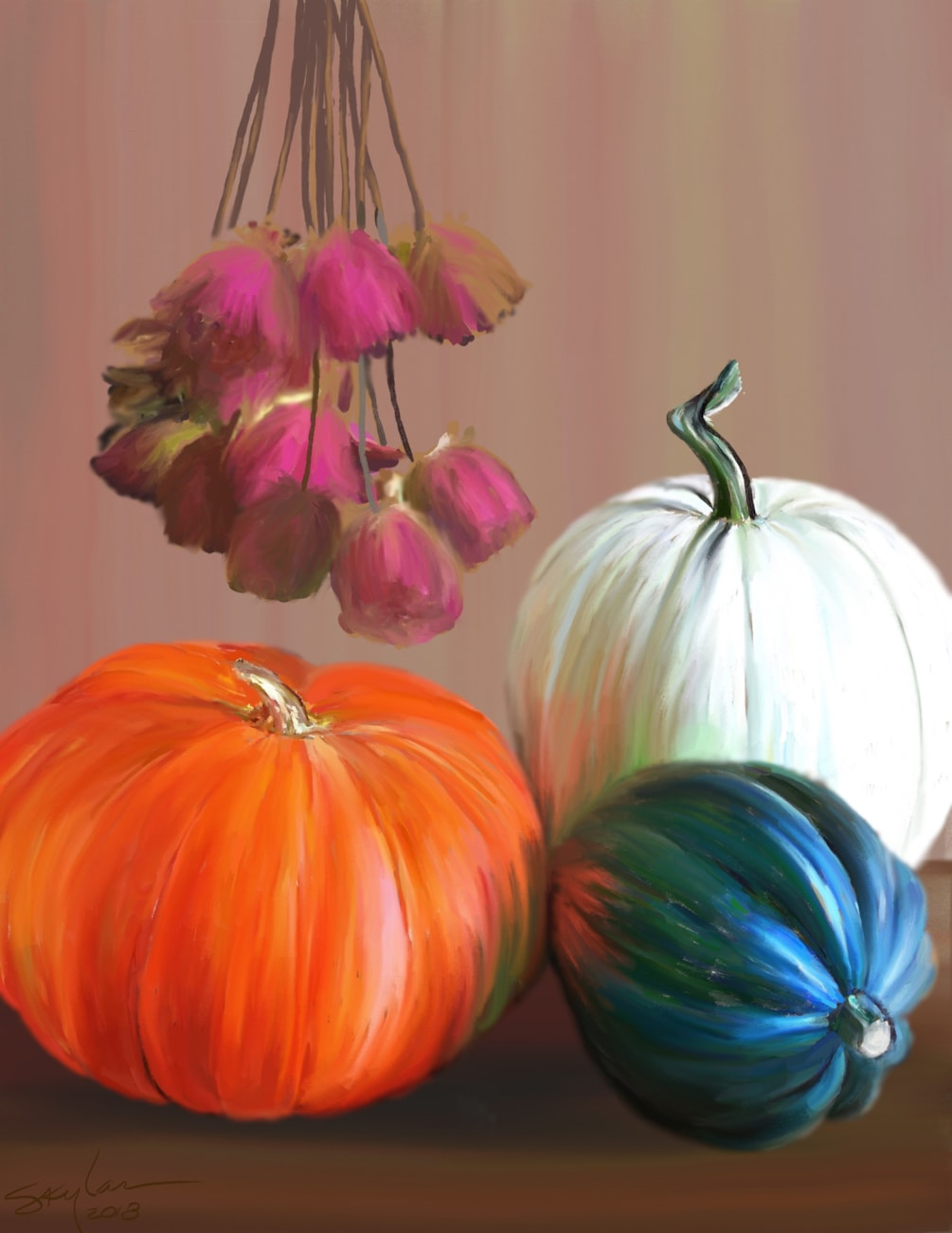 Gourds & Roses