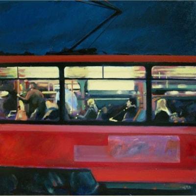 Prague Tram No.1