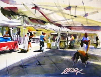 Alcala Market in Tenerife