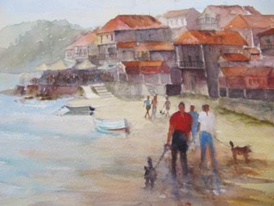 Combarro in Galicia