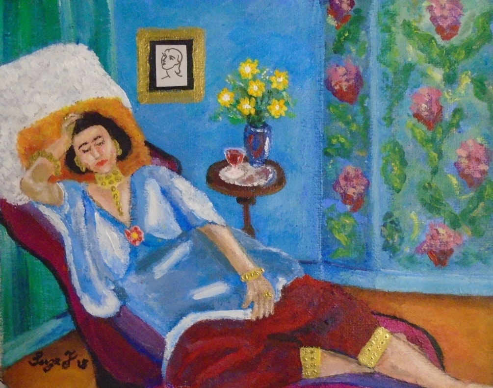 Madame Bijoux Just Lurves Matisse!