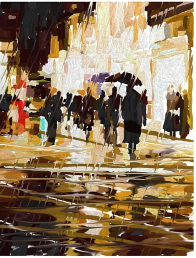 Rainy Night Shopping