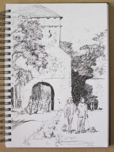 through the Land gate