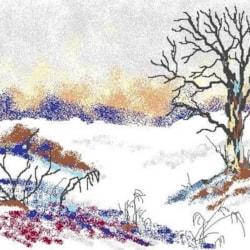 Digi Snow Scene, for Dennis