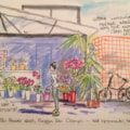 From my sketchbook, Florence, 1st Cafe stop