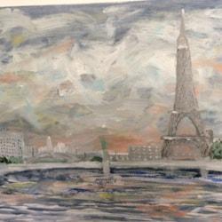 Wintery Paris