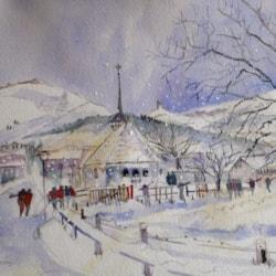 Starting To Snow, Wengen