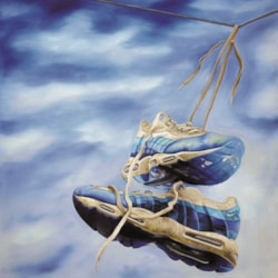 Nikes on a Wire