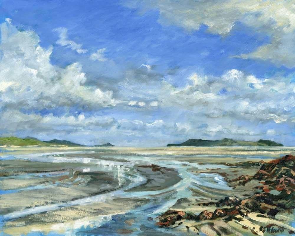 Tidal Patterns, Traigh Mhor, Barra