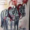 Feathery ponies, Krakow
