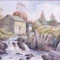 Falls below Watendlath Cumbria