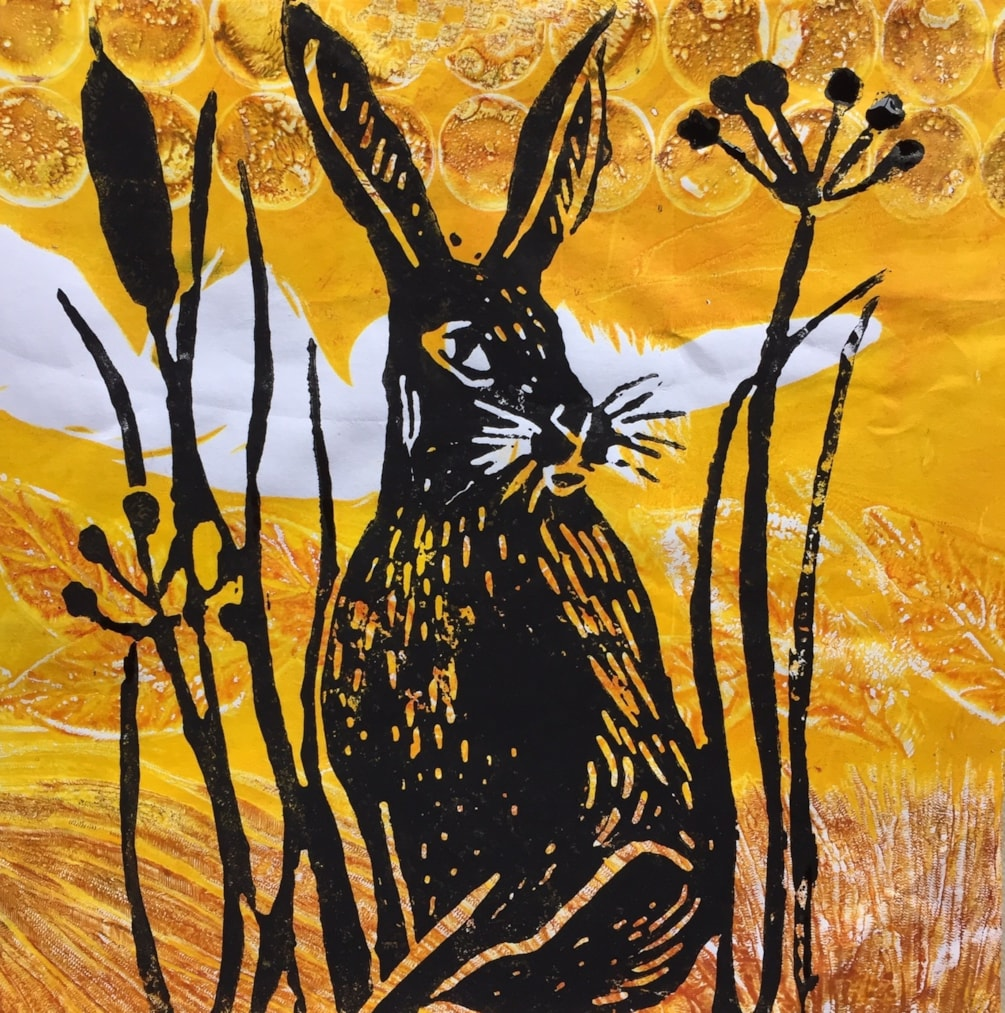 Hare he is again.
