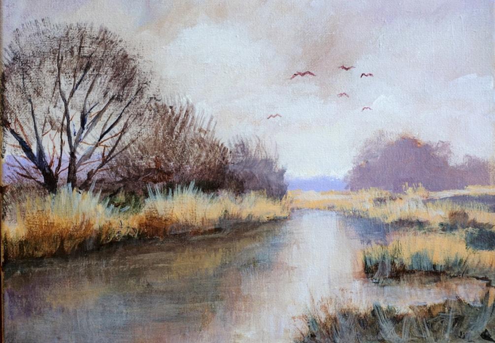 River at Stockbridge