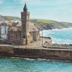 On A Sunny Afternoon In Porthleven