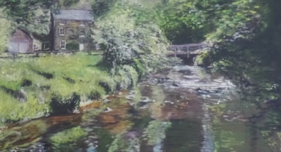 The water mill.