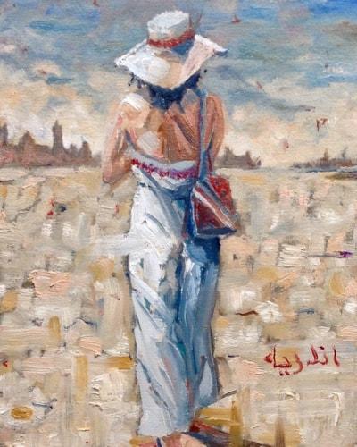 'Looking East'