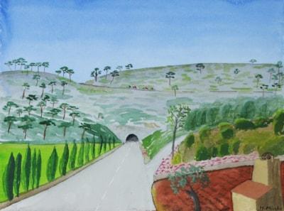 """Mallorca """"Tunnelberg"""""""