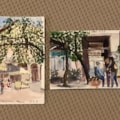 two postcards from Athens