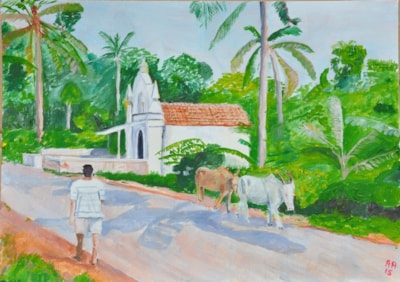 Chapel, Fort Aguada Road, Candolim, Goa