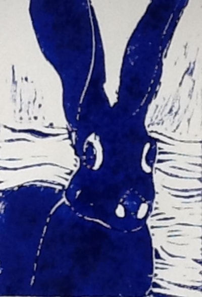 The Last Blue Hare!