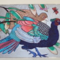 pheasants japanese style- SOLD !!