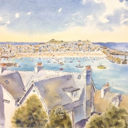 St Ives Harbour. Cornwall