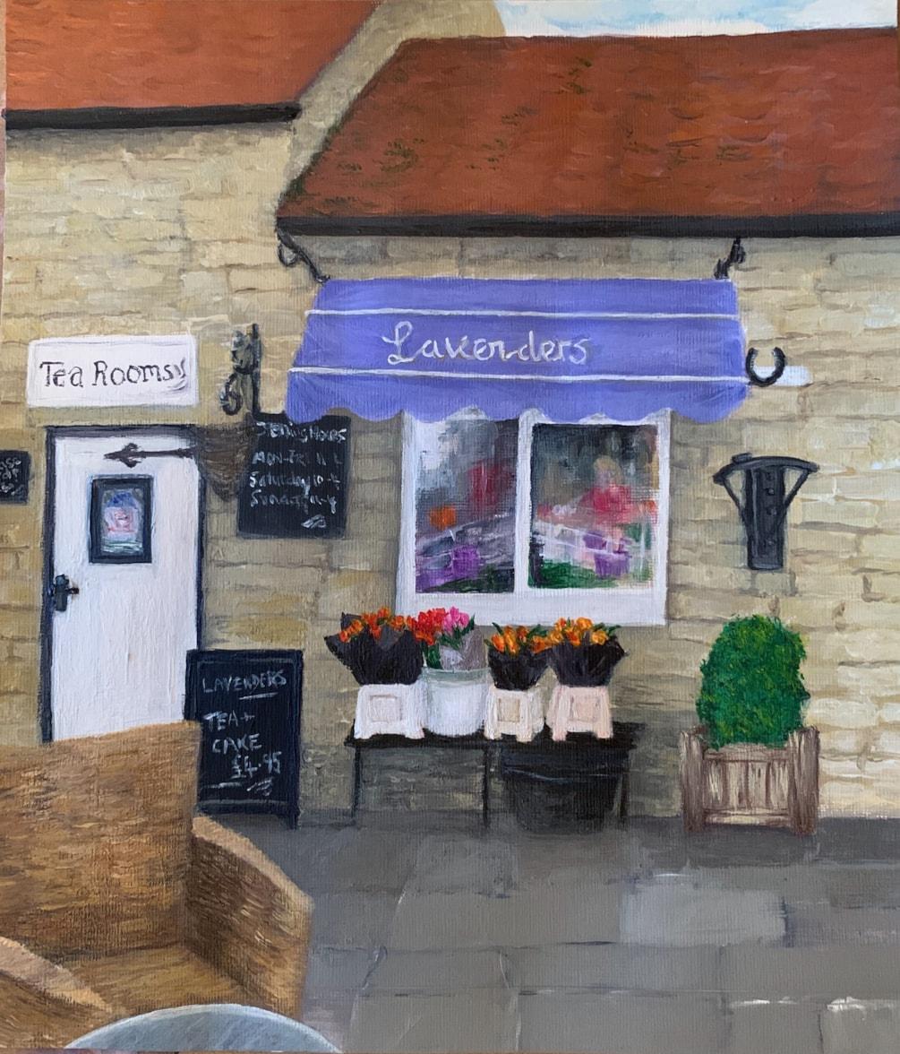 Lavenders tea room Yorkshire