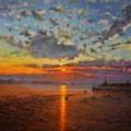 Margate Harbour - Winter Sunset V
