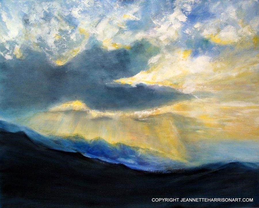Dawn Pyrenees October 08