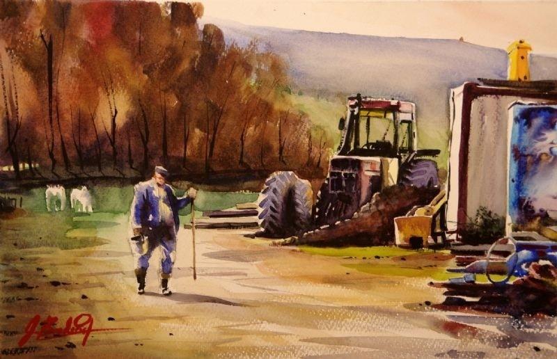 Lower Hopton Farmers Yard