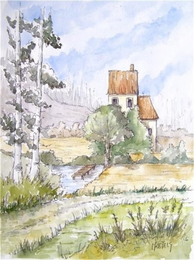 The house on the pond