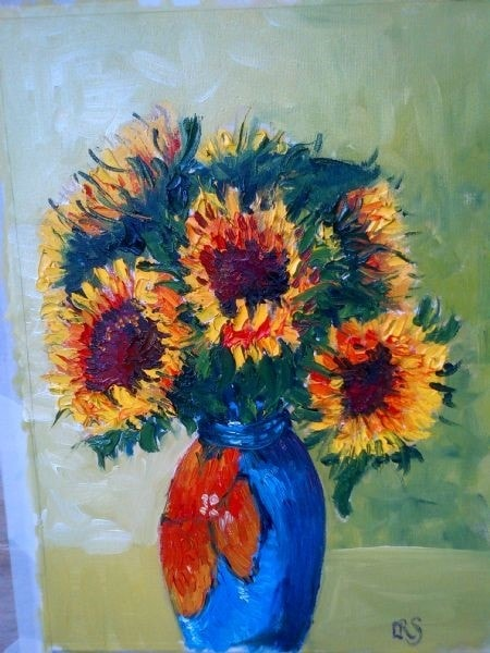 Sunflowers from Coney Hall