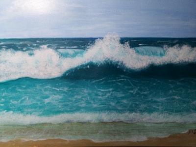 My First Acrylic!