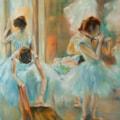 Impression of Degas - Dancers at Rest