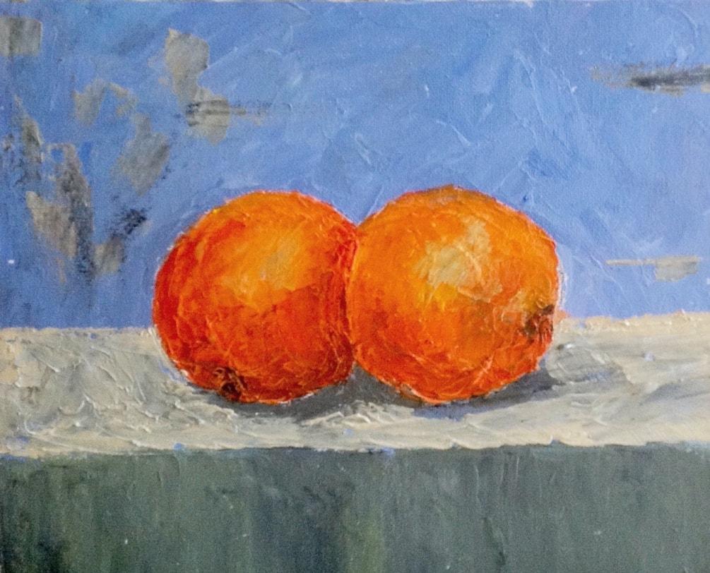 Oranges of  Seville.