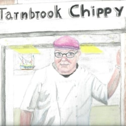 Chippy John in watercolours