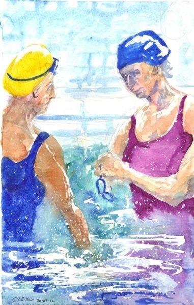 pool conversation