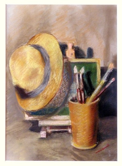 Hat and Brushes