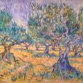 Olive Grove - an attempt at the style of the great man himself !