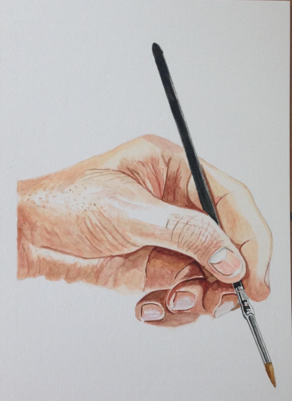 Painterly Hand
