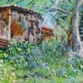 Garden Shed - En Plein Air SOLD