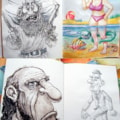 Pages from my sketchbooks 2