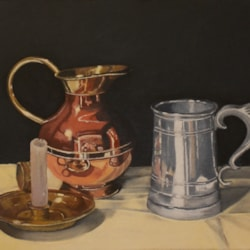 Still Life with Metals