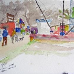 Urban sketch 2