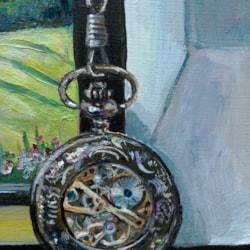 Pocket Watch: Detail of WIP