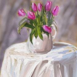 Digital tulips
