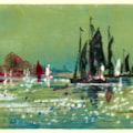 Spritsail Barges - Monotype